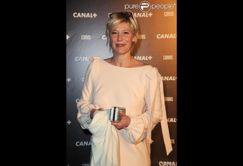 Maïtena Biraben en mai 2012 à Cannes