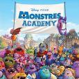 Une des affiches du film Monstres Academy (Monsters University), en salles le 10 juillet