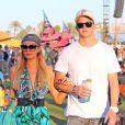 Paris Hilton et River Viiperi à Coachella, le 19 avril 2013.