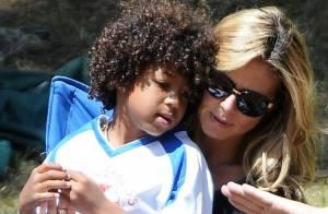 Heidi Klum : Complice avec son chéri pour soutenir ses enfants footballeurs