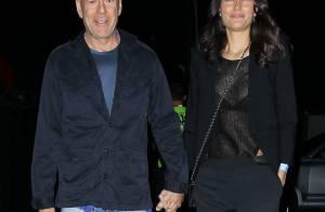 Bruce Willis : Avec sa femme, sexy, pour un concert exceptionnel des Stones