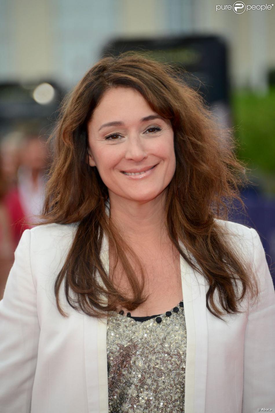 Daniela Lumbroso à Deauville, le 1er septemnre 2012.