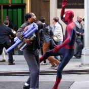 The Amazing Spider-Man 2 : Andrew Garfield et Jamie Foxx se battent violemment