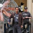 Jamie Foxx sur le tournage de The Amazing Spider-Man 2 à New York le 28 avril 2013.