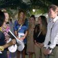 Vanessa, Maude, Capucine et Geoffrey dans les Anges de la télé-réalité 5, lundi 29 avril 2013 sur NRJ12