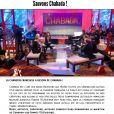 Site internet : Sauvons-Chabada.fr