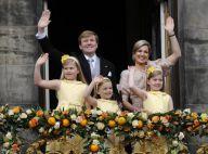 Willem-Alexander et Maxima des Pays-Bas : Jour de gloire au balcon du palais
