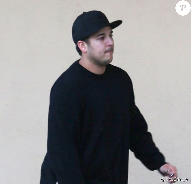 Rob Kardashian à Los Angeles, le 17 avril 2013.