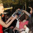 Carey Mulligan lors de la première mondiale de Gatsby le Magnifique au Lincoln Center de New York City, le 1er mai 2013.