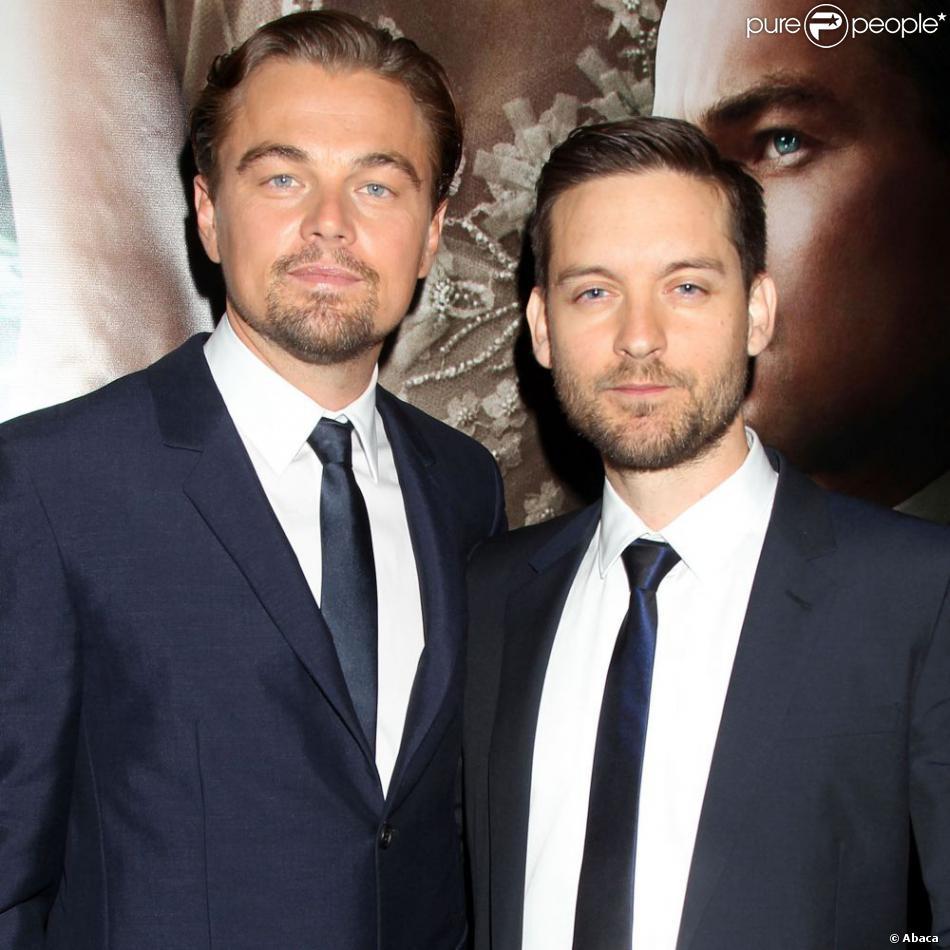 Leonardo Dicaprio Pourrait Jouer Dans Gatsby Le Magnifique: Leonardo DiCaprio Et Tobey Maguire à La Première Mondiale