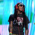 Lil Wayne lors de la cérémonie des MTV Video Music Awards au Staples Center de Los Angeles, le 6 septembre 2012.