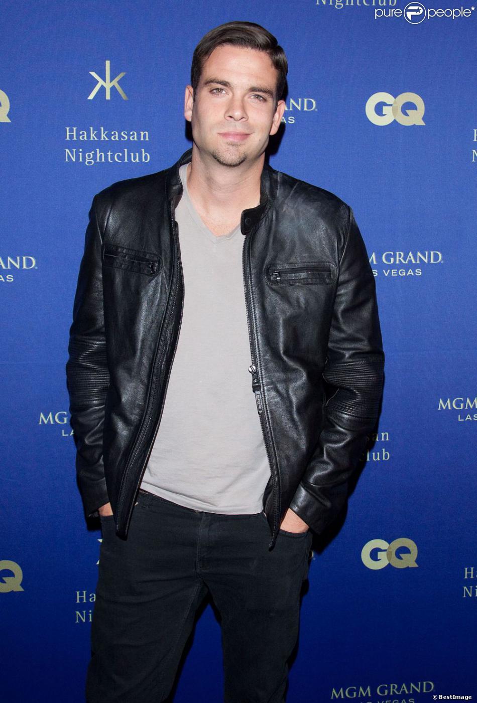 L'acteur Mark Salling à la soirée Hakkasan à Las Vegas, le 27 avril 2013.