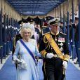 Camilla Parker Bowles et le prince Charles à Amsterdam le 30 avril 2013 après la prestation de serment du roi Willem-Alexander des Pays-Bas.
