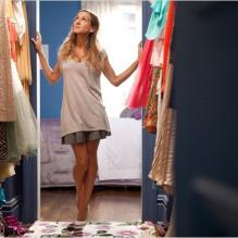 "Sarah Jessica Parker dans ""Sex and The City 2"", sorti en 2010."