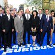 Le casting à l'avant-première mondiale de Fast & Furious 6 à l'Empire Leicester Square, Londres, le 7 mai 2013.