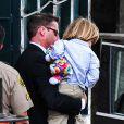 Charlie Sheen et Denise Richards au tribunal de Los Angeles. Il était question de savoir qui aurait la garde des jumeaux Bob et Max, fils de l'acteur et de Brooke Mueller, internée pour être retombée dans la drogue. Photo prise le 7 mai 2013.