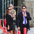 Les deux acteurs Charlie Sheen et Denise Richards se rendent au tribunal de Los Angeles. Il était question de savoir qui aurait la garde des jumeaux Bob et Max, fils de l'acteur et de Brooke Mueller, internée pour être retombée dans la drogue. Photo prise le 7 mai 2013.