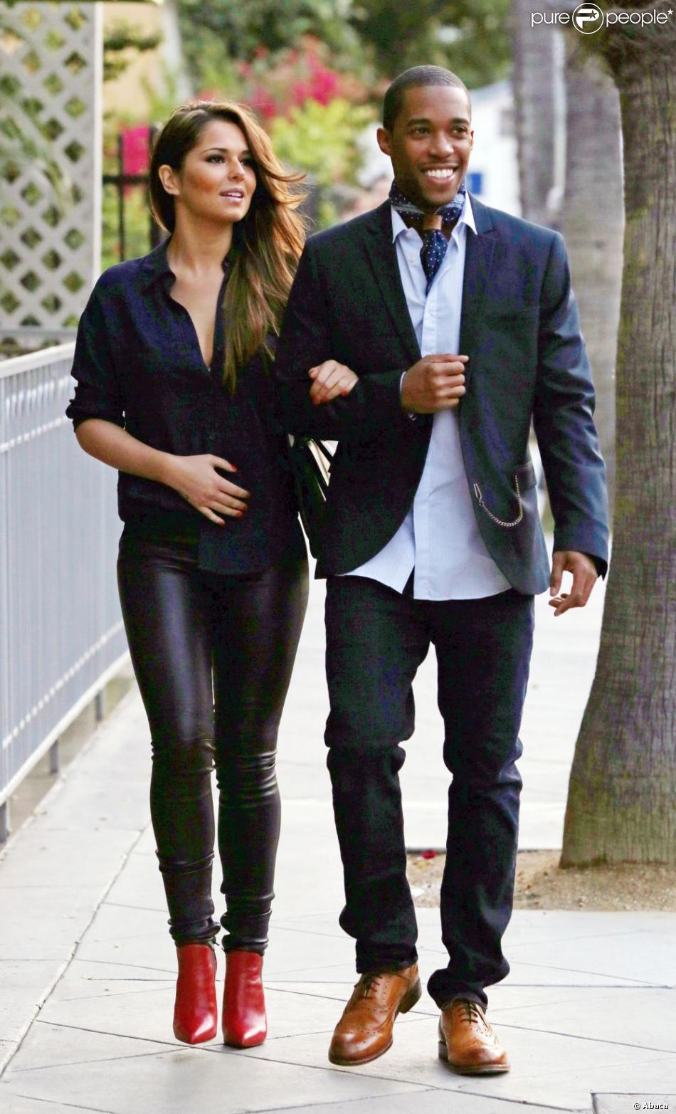Cheryl Cole et Tre Holloway à Los Angeles le 8 mai 2013.
