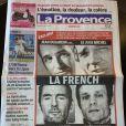Scan de la couverture de La Provence.