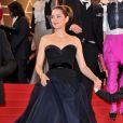 Marion Cotillard lors de la projection du film De rouille et d'os au Festival de Cannes le 17 mai 2012