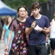 Keira Knightley et James Righton à New York le 30 juillet 2012.