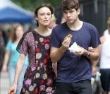 Keira Knightley et James Righton à New York le 30 juillet 2012.
