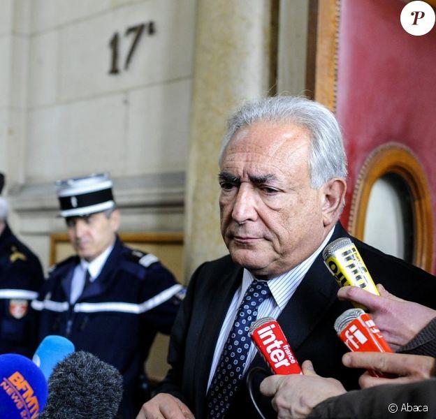 Dominique Strauss-Kahn à Paris, le 26 février 2013.
