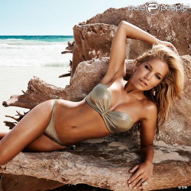 Sylvie van der Vaart, sublime égérie estivale en bikini pour Hunkemöller.