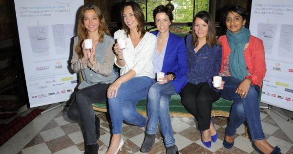 Sandrine Quétier, Julia Vignali, Nathalie Renoux, Pascale