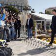 Keanu Reeves sur le photocall de 'The Man of Tai Chi' lors du 66e Festival de Cannes le 20 mai, 2013.