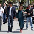 Tomer Sisley et sa compagne Agathe Delafontaine au 66e festival de Cannes, le 20 mai 2013.