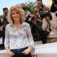 Alice Taglioni (bracelet Princesse Grace de Monaco en or blanc et diamants Montblanc) à Cannes, le 20 mai.
