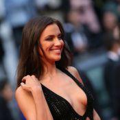 Cannes 2013: Irina Shayk, décolleté spectaculaire face à la sexy Petra Nemcova