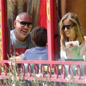 Christian Audigier : Repos mérité sous le soleil avec sa fiancée et son fils