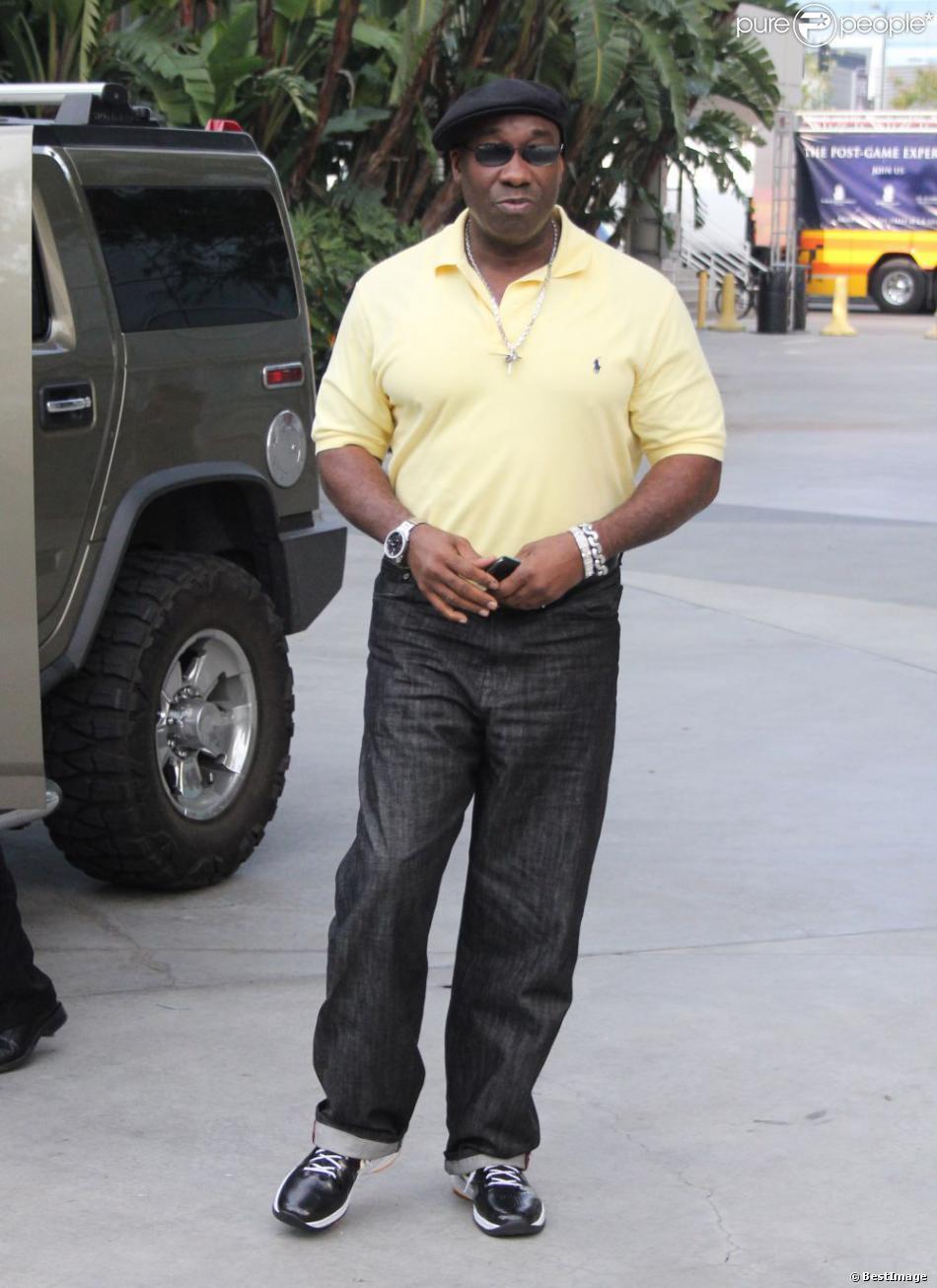 Michael Clarke Duncan à Los Angeles le 25 décembre 2010