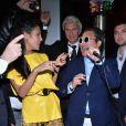 Goga Ashkenazi et Psy à la soirée Vionnet à l'occasion du 66e Festival de Cannes 2013, le 20 avril 2013.