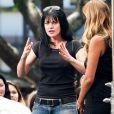 """Pauley Perrette sur le plateau de l'émission """"Extra"""" à Los Angeles, le 28 mai 2013"""