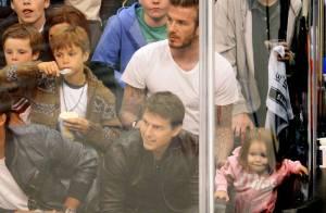 Tom Cruise et son fils Connor complices avec la tribu Beckham pour les Kings
