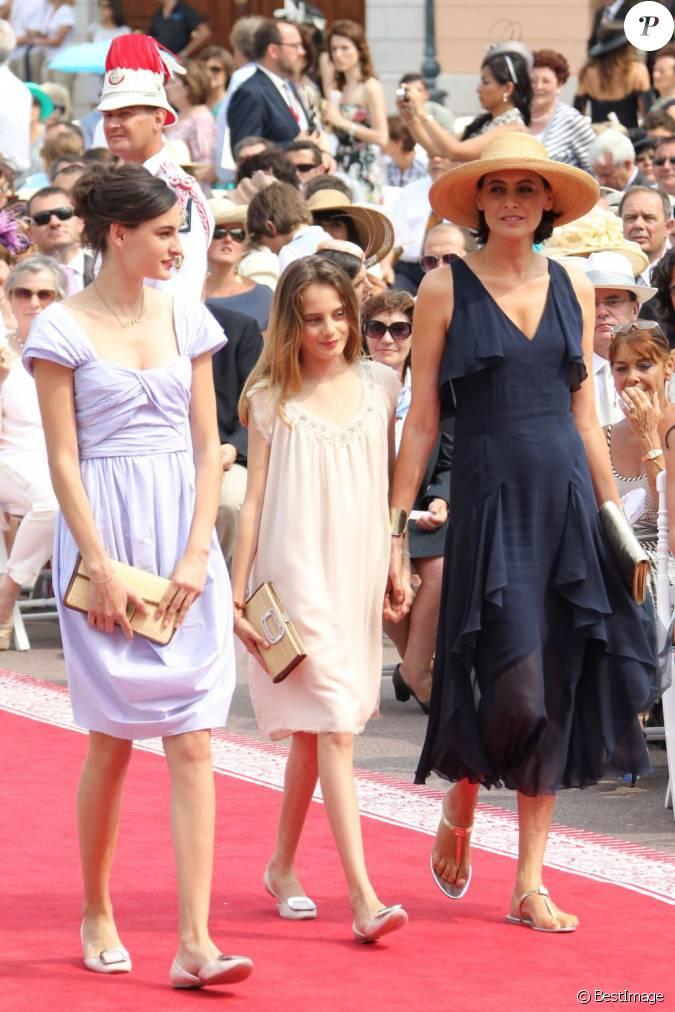 In s de la fressange et ses filles violette et nine dont - Ines de la fressange filles ...