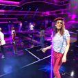 Sofia Essaïdi dans Samedi soir on chante France Gall - Musique reprise à la collégiale sur TF1 le samedi 1er juin 2013