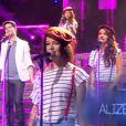 Alizée dans Samedi soir on chante France Gall - Musique reprise à la collégiale sur TF1 le samedi 1er juin 2013