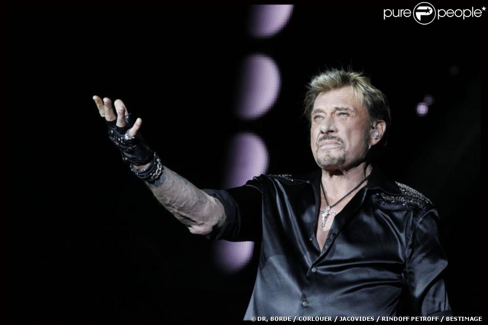 EXCLU : Johnny Hallyday au Stade de France, le 17 juin 2012.