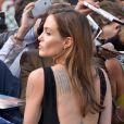 Angelina Jolie à la première mondiale de World War Z, à l'Empire Leicester Square, Londres, le 2 juin 2013.