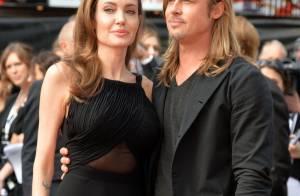 Angelina Jolie : Eblouissante, radieuse et émue pour Brad Pitt et World War Z