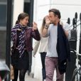 Pippa Middleton et un ami à Londres le 31 mai 2013