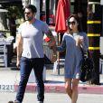 Jesse Metcalfe et Cara Santana sont allés déjeuner au restaurant Toast à West Hollywood, le 4 juin 2013.