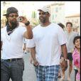 Denzel Wshington en vacances en famille à St-Trop' !