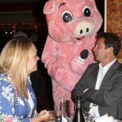 Laurent Gerra amoureux et Corinne Touzet : Soirée rigolote avec un gros cochon