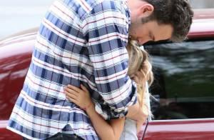 Ben Affleck, papa poule : Instant tendre et câlin avec son irrésistible Violet
