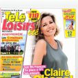 Claire Chazal en couverture de Télé Loisirs